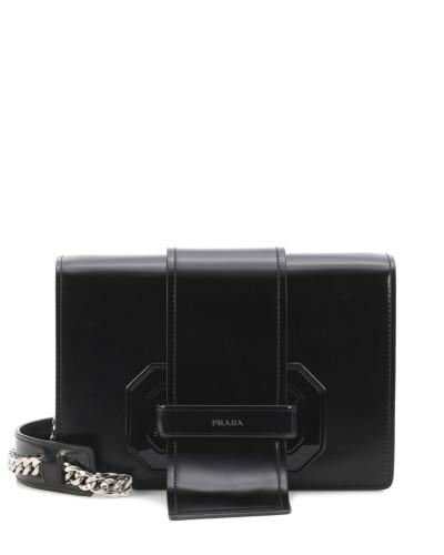 Verkauf Erhalten Zu Kaufen Prada Damen Schultertasche Plexi Ribbon aus Leder Verkauf 2018 Neue Äußerst Billig Verkauf Am Besten Günstig Kaufen Niedrigen Preis LZWmZxAgf