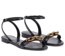 Sandalen Le Maillon aus Leder
