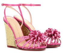 Sandaletten Tina aus Satin