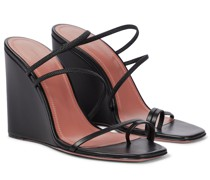 Wedge-Sandalen Naima aus Leder