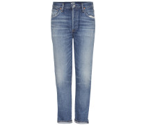 High-rise Jeans Liya in Cropped-Länge