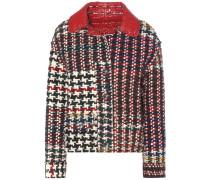 Wendbare Tweed-Jacke aus einem Woll-Alpaka-Gemisch
