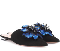 Slippers Disco Flower