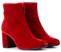 Ankle Booties Babies 70 aus Samt