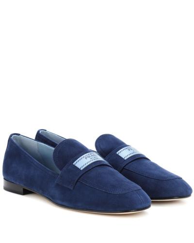 Prada Damen Loafers aus Veloursleder Billig Verkaufen Kaufen Zum Verkauf Online-Verkauf Footaction Günstiger Preis aFjm2t