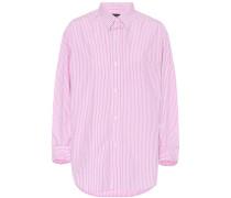 Gestreiftes Hemd Kayla aus Baumwolle