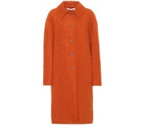 Mantel aus Alpaka und Seide