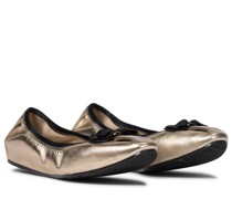Ballerinas My Joy aus Metallic-Leder