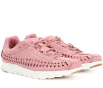 Sneakers Mayfly Woven aus Veloursleder