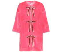 Mantel Adelaide aus Faux Fur