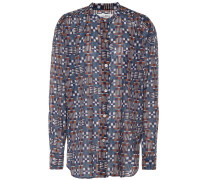 Bedruckte Nahla Bluse aus Baumwolle
