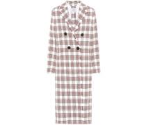 Mantel Tartan Luxury mit Baumwollanteil