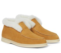 Ankle Boots Open Walk mit Shearling
