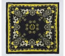 Bedruckter Schal Vette aus Seide