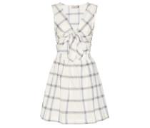 Kariertes Kleid Liba aus Baumwolle