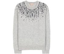 Verzierter Pullover aus Cashmere