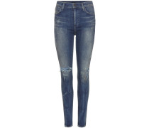 High Rise Skinny Jeans Rocket
