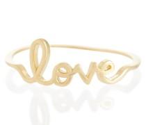 Ring Love aus 14kt Gelbgold