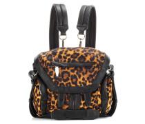 Rucksack Mini Marti mit Leopardenprint