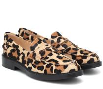 Loafers aus Kalbshaar