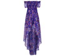 Off-Shoulder-Kleid Dora aus Seide