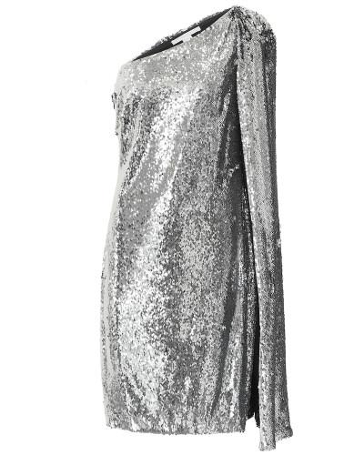One-Shoulder-Minikleid