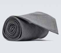 Krawatte aus Schurwolle
