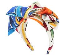 Haarband aus einem Baumwoll-Seidengemisch