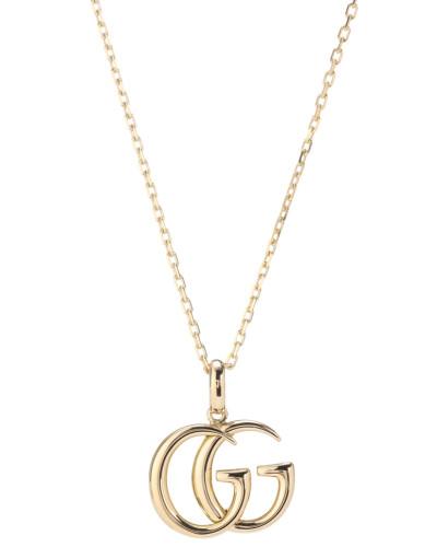 Halskette Double G aus 18kt Gold