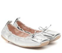 Ballerinas Viv' Pockette aus Leder