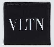 Portemonnaie VLTN aus Leder