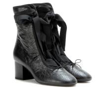 Ankle Boots Rockstud Ballet aus Leder