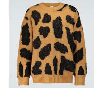 Gemusterter Oversize-Pullover