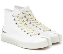 High-Top-Sneakers Tabi aus Canvas