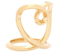 Ring in Herzform