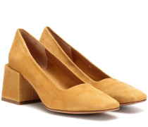 Pumps Villa aus Veloursleder