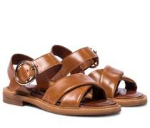 Sandalen Lyna aus Leder