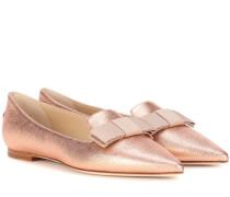 Ballerinas Gala aus Lamé