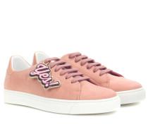 Sneakers Wink aus Veloursleder