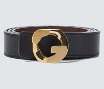 Wendbarer Gürtel G Chain aus Leder