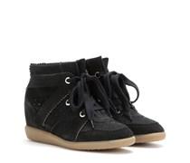 Étoile Bobby Wedge-Sneakers aus Veloursleder