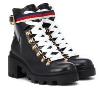 Ankle Boots Trip aus Leder