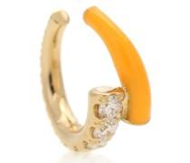 Einzelner Ear Cuff Lola aus 18kt Gelbgold