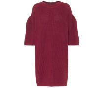 Minikleid aus Leinen und Baumwolle