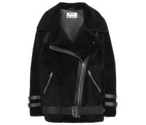 Jacket Velocite aus Leder mit Shearling
