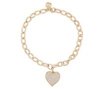 Armband Heart aus 14kt Gelbgold mit Diamanten