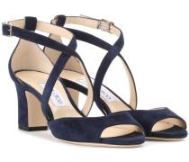 Sandaletten Carrie 65 aus Veloursleder