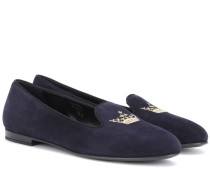 Loafers Ingrid aus Veloursleder