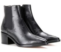 Ankle Boots Beatle aus geprägtem Leder