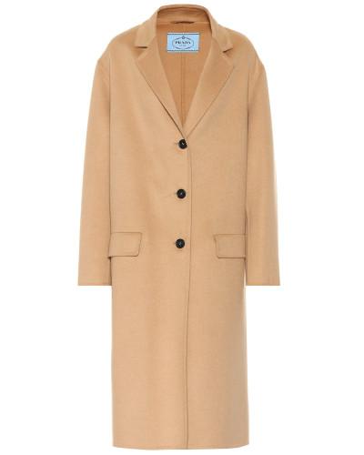 Mantel aus Angora und Wolle